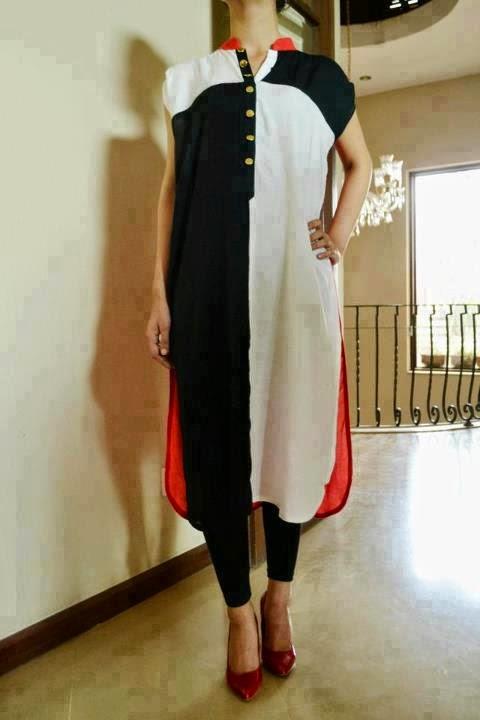 Girls Kurta Designs 2015  Designers Kurtas For Girls -5456