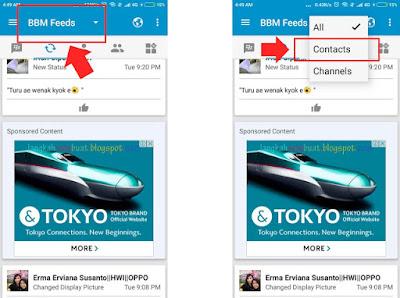 Cara menghilangkan iklan di BBM versi baru tanpa root
