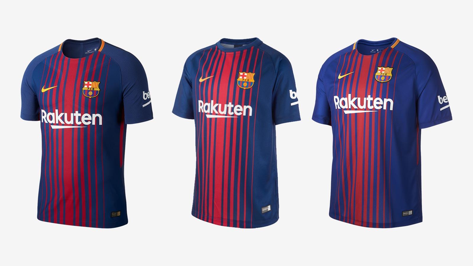 Nike Releases New Cheap FC Barcelona 17-18 Breathe Home Kit