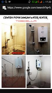 Service Water Heater Paloma Di Bandung