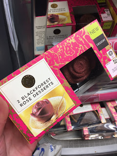 Marks & Spencer Blackforest Rose Desserts: