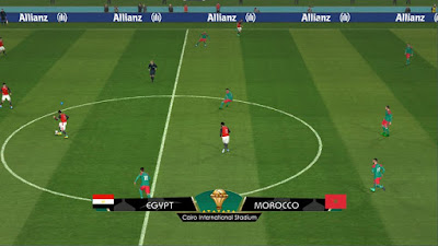 PES 2017 CAF Africa Cup of Nations 2017 Scoreboard by G-Style