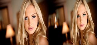 Como mudar cor do olho no photoshop online