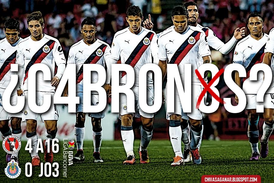 Ligaa MX : Club Tijuana 4-0 CD Guadalajara - Apertura 2016 - Jornada 3.