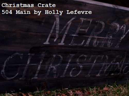 Make a Crate to Hide the Christmas Tree Stand