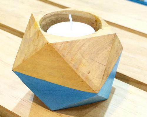 www.tinuku.com Studio Balok Living presenting series wooden candle holder design for romantic moments