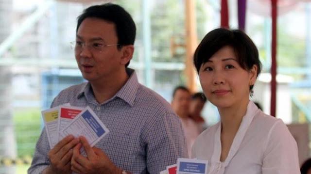 Ahok Menggugat Cerai Veronica Tan di PN Jakut