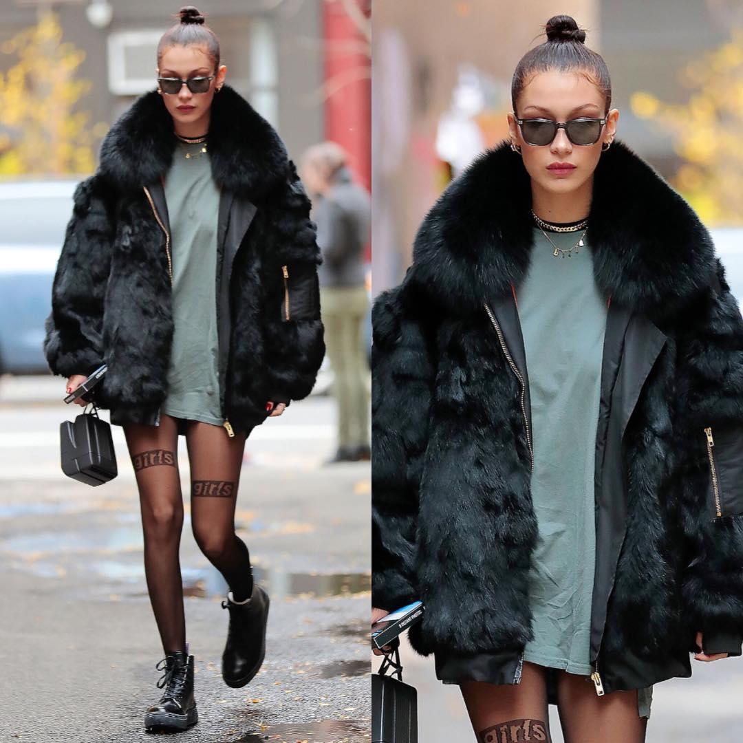 Bella Hadid Fashion Photos