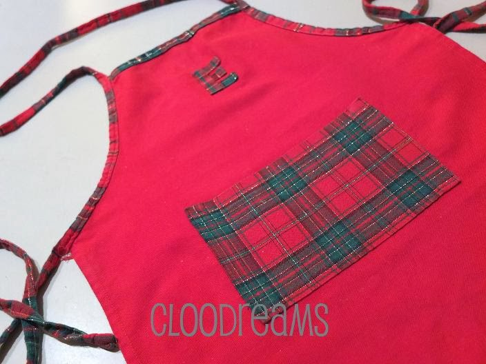 Cloodreams cio 39 che la mente pensa la mano crea grembiule natalizio da cucina per bambini - Grembiuli da cucina per bambini ...