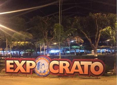 Resultado de imagem para fotos Expocrato ganha letreiro gigante