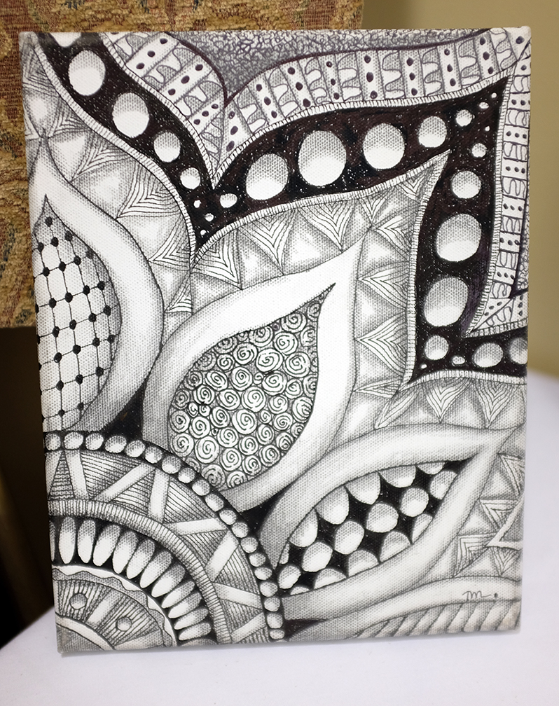 Zentangle for Drawing patterns for beginners