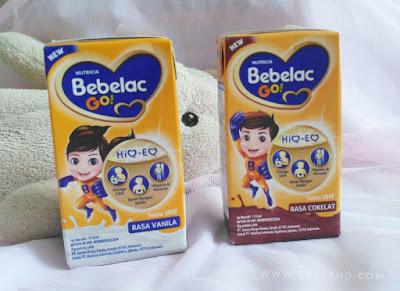 Bebelac GO! susu UHT untuk melengkapi nutrisi anak saat beraktivitas di luar rumah