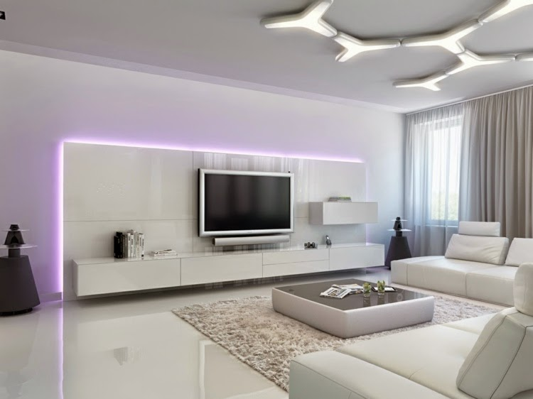 Interior LED Lights: Futuristic Furniture With LED Lights