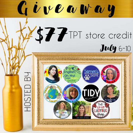 TpT Giveaway!
