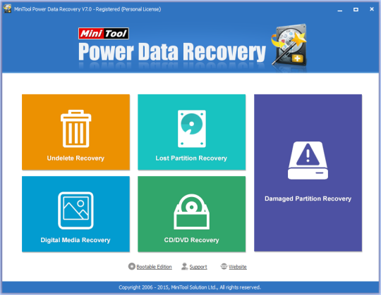 MiniTool Power Data Recovery (Software Memulihkan Data yang Terhapus)