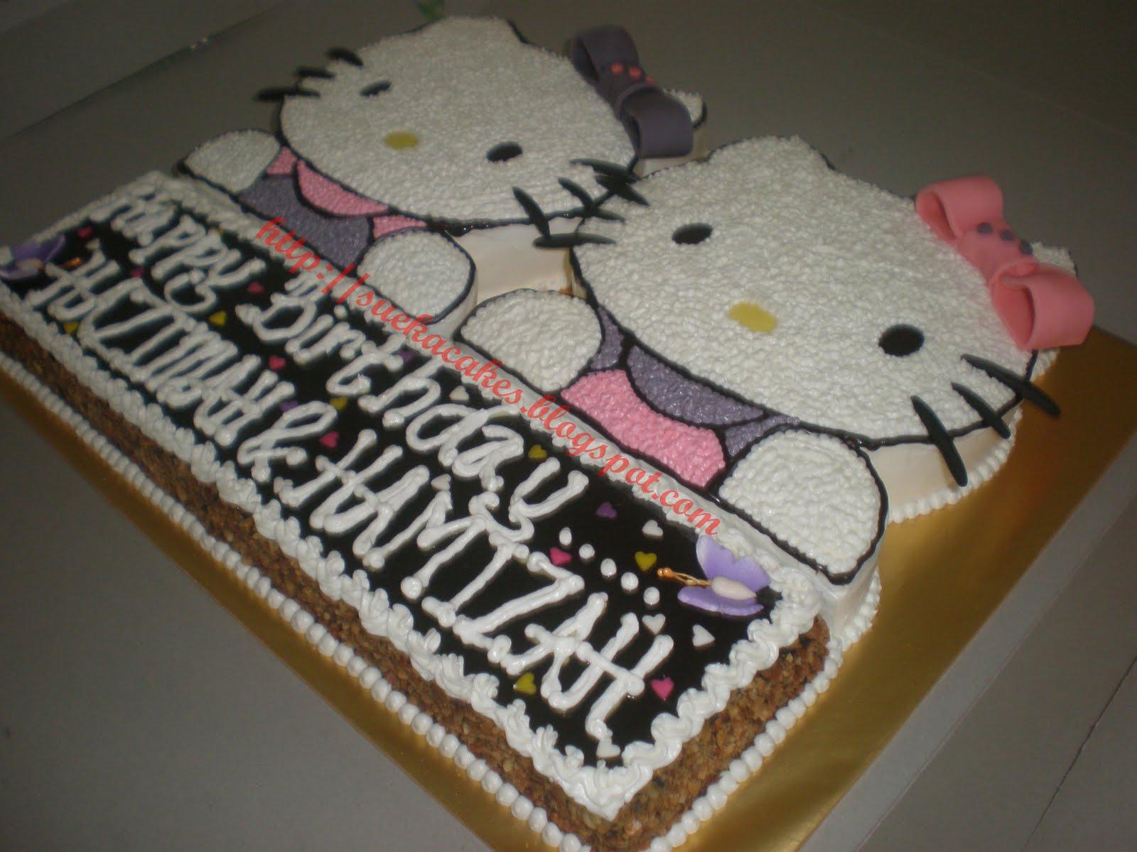 Suekacakes Amp Cafe Yg Pastinya Halal Hello Kitty Kek