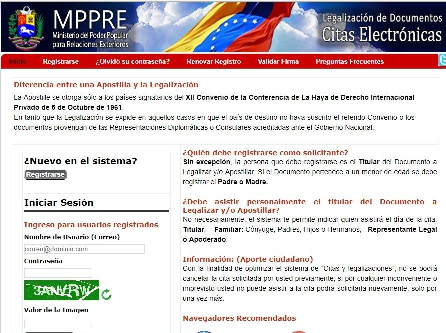 Apostillar En Venezuela 2017