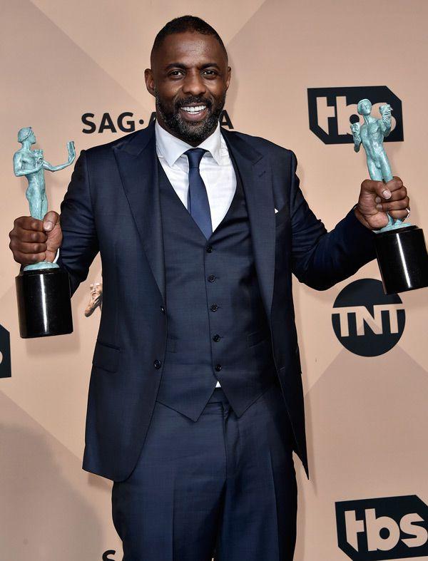 Idris Elba, DiCaprio, Kirt Harington, John Hamm, Eddie Redmayne e muito mais. Confira os looks que pintaram no red carpert do SAG Awards 2016