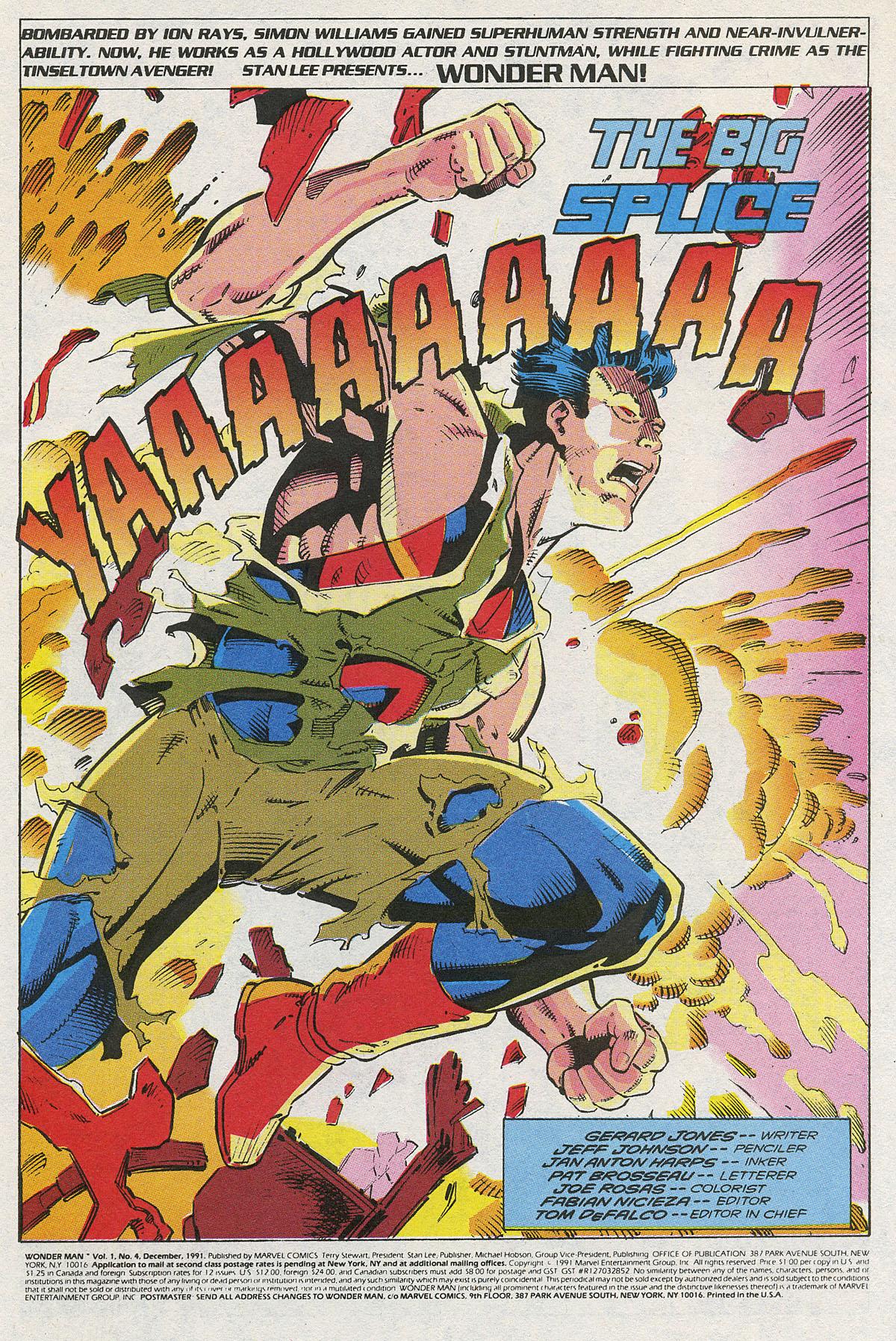 Read online Wonder Man (1991) comic -  Issue #4 - 2