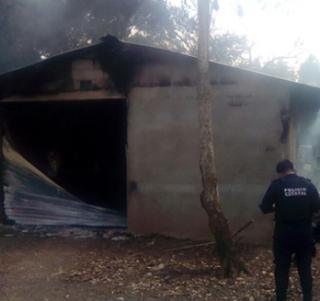 En Rodríguez Clara Veracruz explota bodega clandestina con gasolina robada