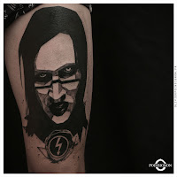 tatouage marilyn manson