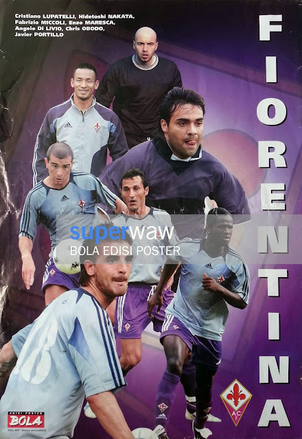 Poster Pemain Fiorentina