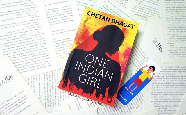 One Indian Girl Book Review Cover Chetan Bhagat