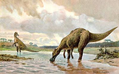 Ilustraciones antiguas de dinosaurios