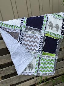 Elephant Crib Bedding