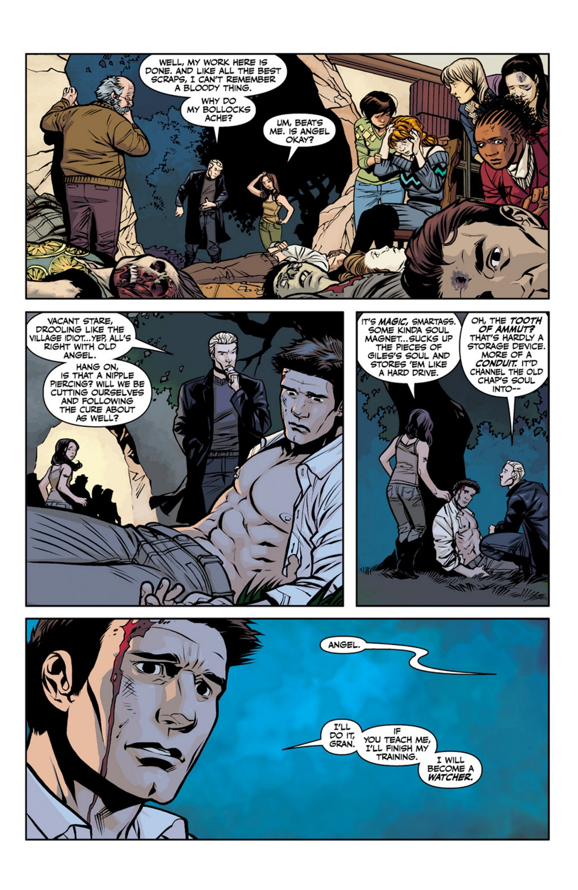 Read online Angel and Faith comic -  Issue #19 - 21