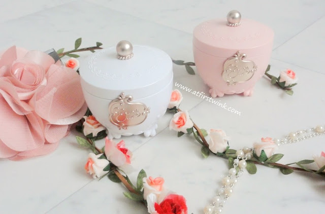 Etude House - Princess Etoinette Crystal Powder and Heart Blusher PK001