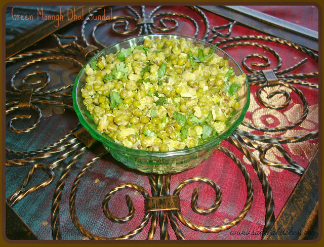 photo of Green Moongh Dhal/Green Gram Dhal/Pachaipayiru Sundal