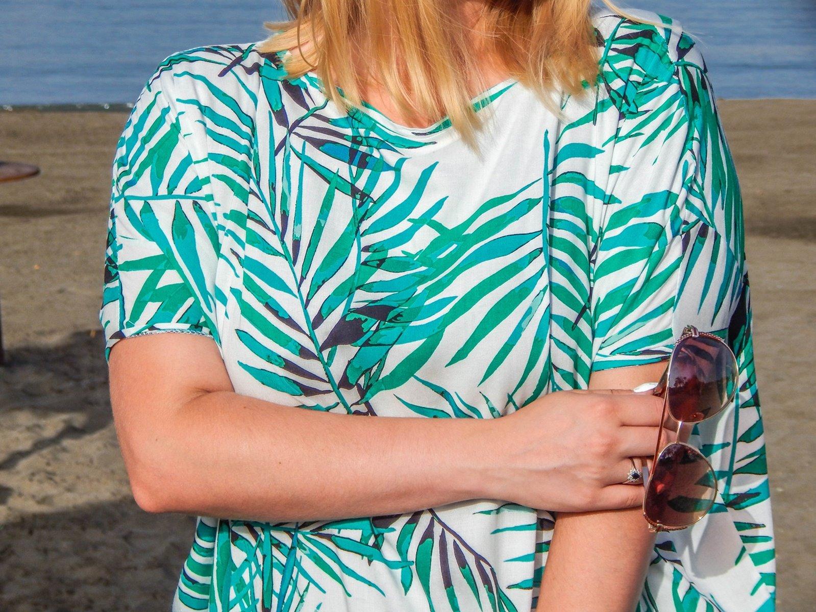 8 sukienka w palmy one mug a day palms fashion details polish blog polskie blogi modowe polska blogerka modowa melodylaniella łódź style fashion ootd posty uroda moda stylizacje lookbook jak sie ubrac na plaze