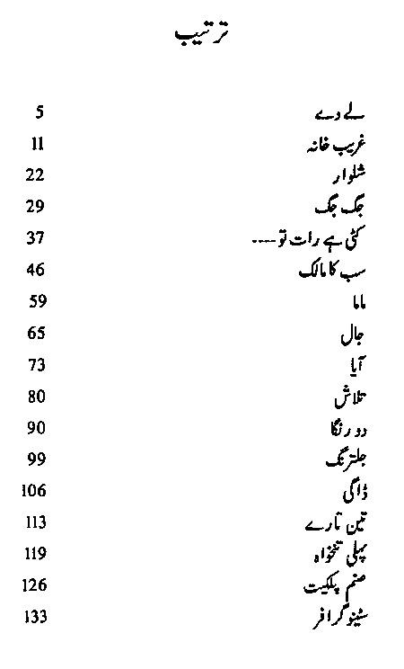 Nafsanay Urdu Short Stories