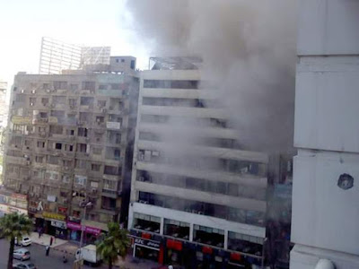 السيطرة علي حريق بمطعم شهير بالمهندسين (صورة)