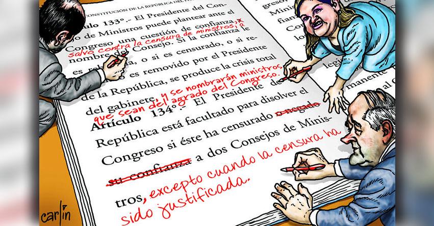 Carlincaturas Lunes 18 Setiembre 2017 - La República