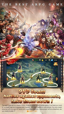Download free game android Dynasty Legends-Legacy of King mod apk