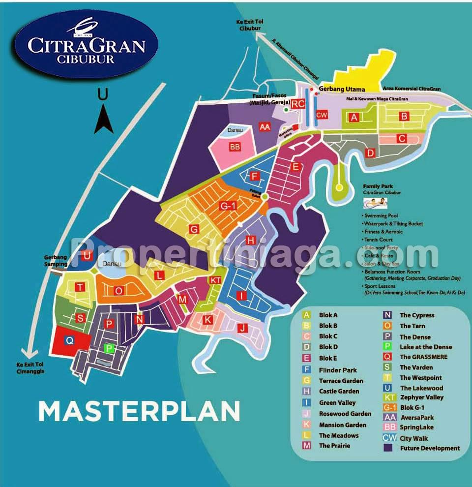 Masterplan-CitraGran-Cibubur