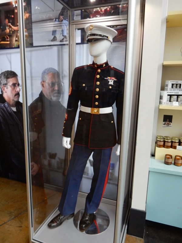 Last Flag Flying US Marine dress uniform