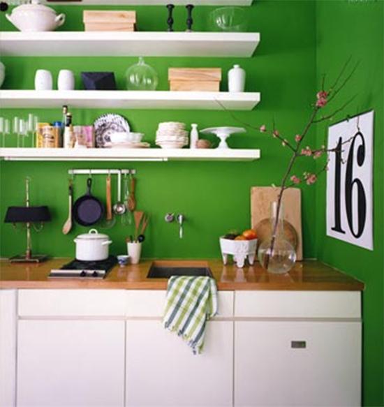 parede verde, green wall, parede colorida, pintar parede, a casa eh sua, acasaehsua, decoração, decor, cozinha