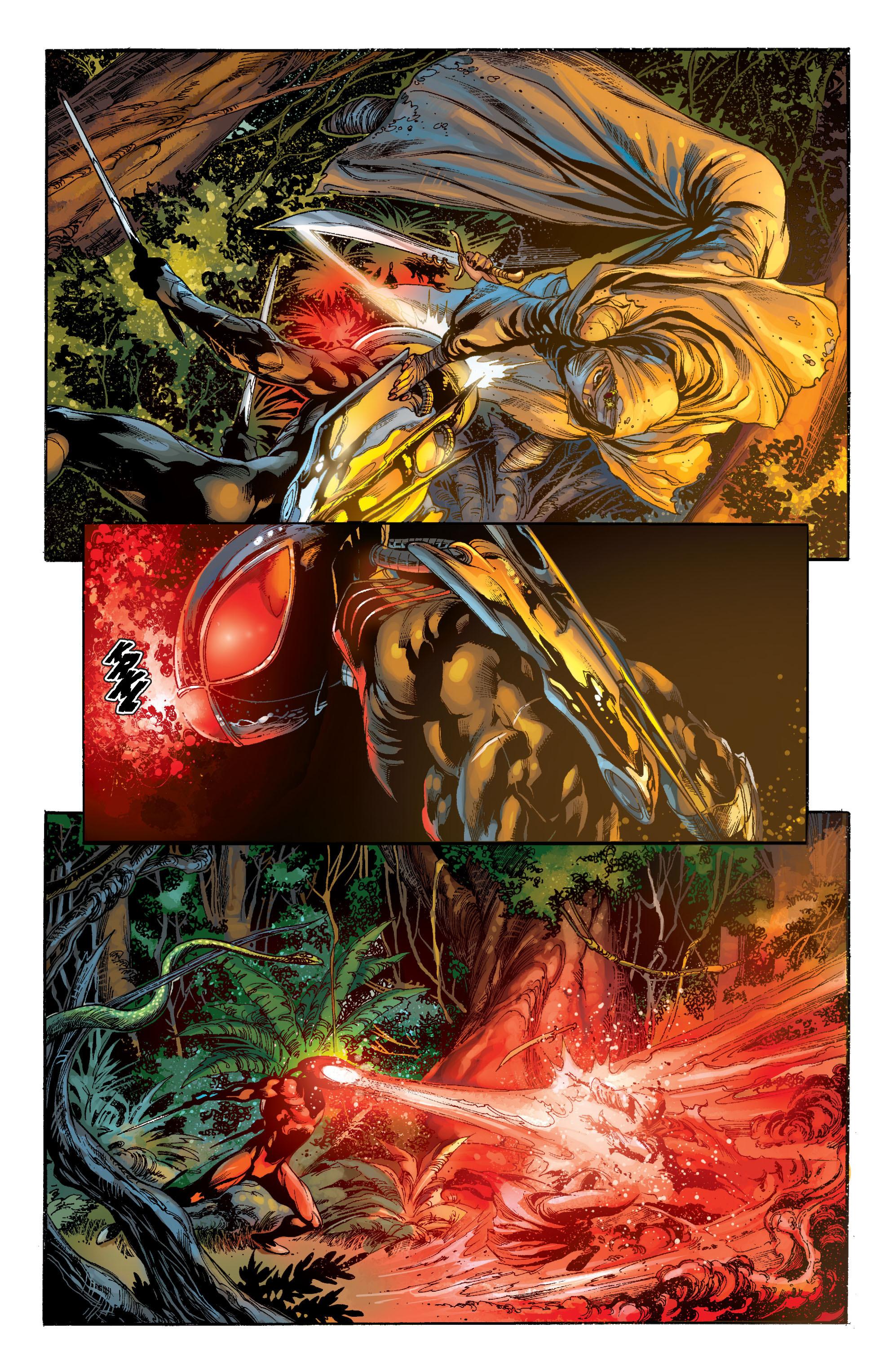 Read online Aquaman (2011) comic -  Issue #7 - 8