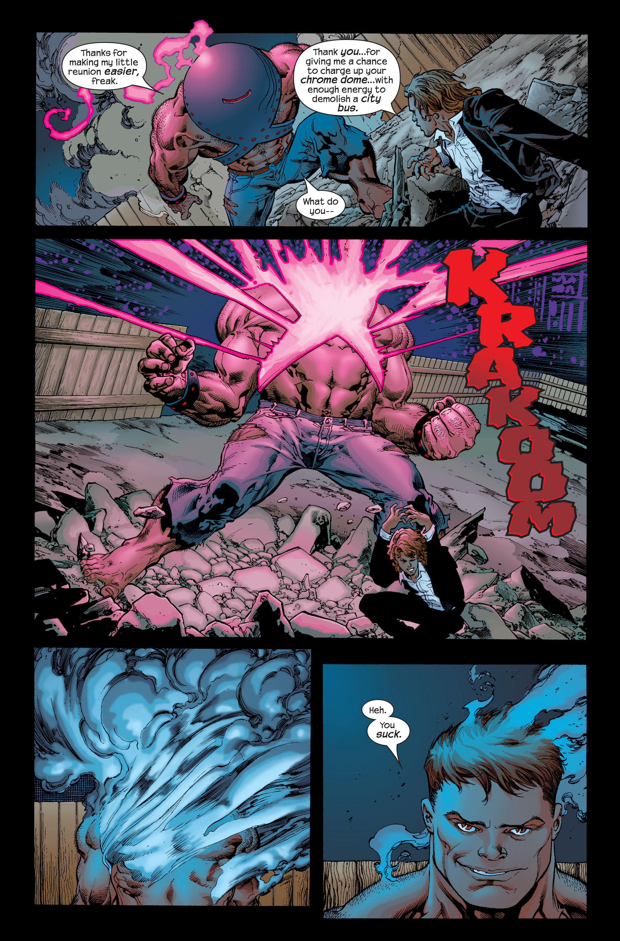 Read online Ultimate X-Men comic -  Issue # _Annual 1 - 26