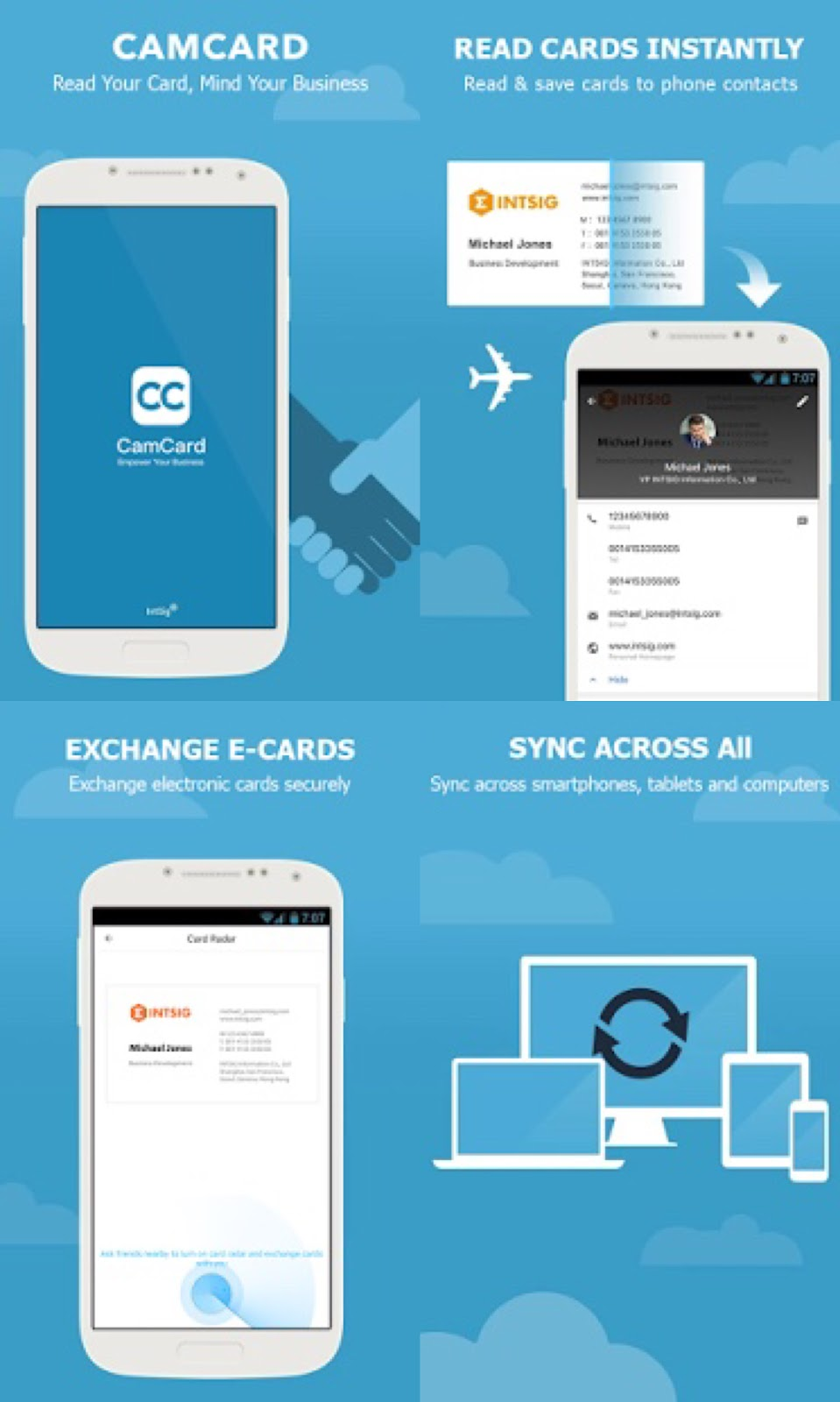 Camcard business card reader v738 apk mobileraid reheart Images
