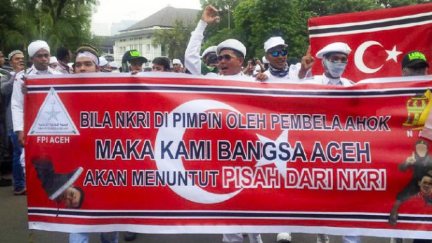 Pesan Pemisahan Diri Aceh Saat Demo 4 November