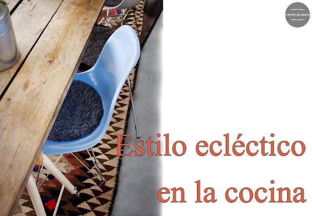 Estilo ecléctico en la cocina