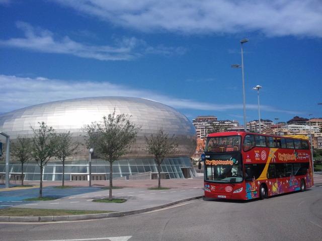 bus city sightseeing palacio deportes santader