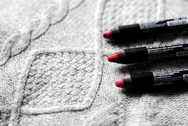 Golden Rose Matte Lipstick Crayon odcienie