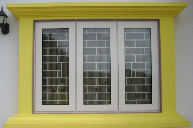 Contoh gambar jendela samping rumah minimalis - Jendela rumah Idaman
