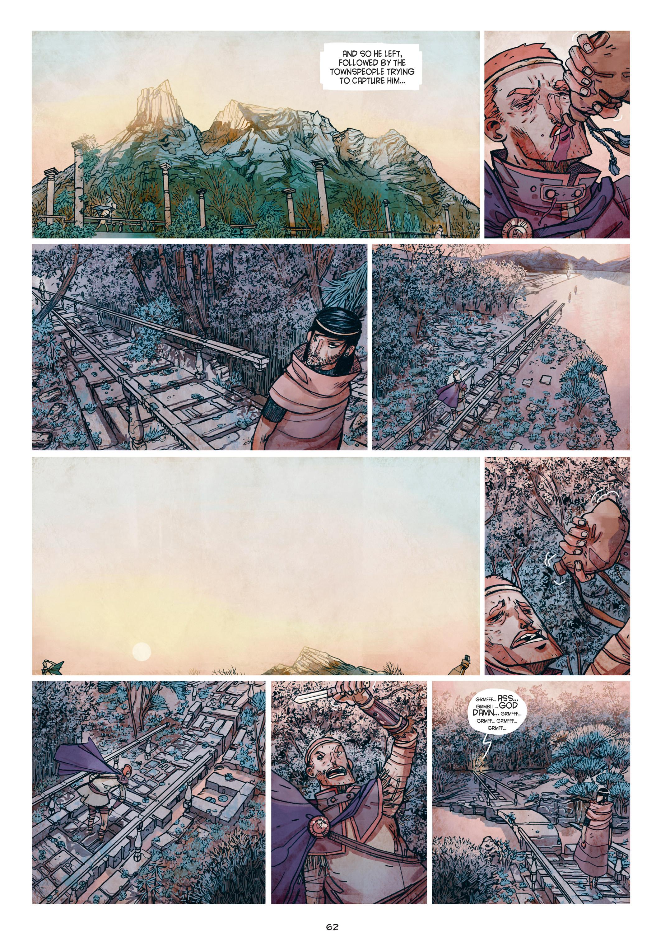Read online Adrastée comic -  Issue #1 - 63