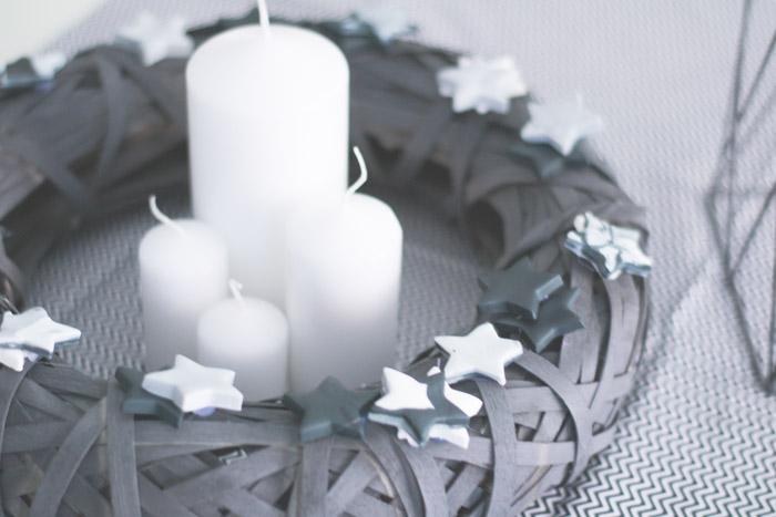 Centro de Mesa de Navidad con Opitec